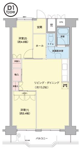 横浜若葉台第1 3-5号棟 1012